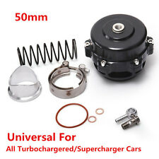 50mm Car Turbo Blow Off Valve 35 PSI Spring Universal BOV W/ Flange 0.4-1.3 Bar