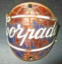 Torpado - Vintage Metal and Enamel Bicycle Head Tube Badge - Italian Italy