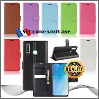 Coque Etui Housse Litchi Cuir PU Leather Stand Wallet Case Cover VIVO U3/Y19/Y5s
