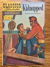 Classics Illustrated, Kidnapped #46, $0.15 FN Copy