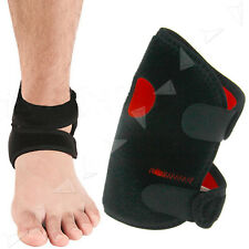 Open Brace Ankle Foot Support Compression Guard Sports Strap Belt