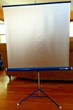 Da-Lite Silver Pacer Portable Projection Screen 40 inch 40 x 40 silver-lite