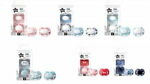 Tommee Tippee Little London Silicone Soothers - 0-6 6-18