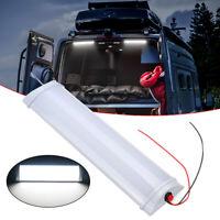 72LED Car Interior White Strip Work Light Bar Lamp Car Van Caravan Boat Home 12V