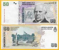 Argentina 50 Pesos p-356(7) ND (2003-2015) UNC Banknote