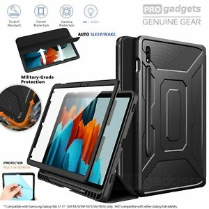 Genuine Moko Full Body Trifold Stand Case Cover for Samsung Galaxy Tab S7 Case