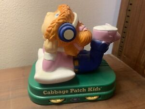 Vintage Cabbage Patch Kids Doll AM Radio 1985 Playtime Products Works!