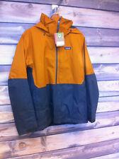 Men's Patagonia 3-in-1 Snowshot Ski Jacket color Hammonds Gold size medium