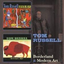 TOM RUSSELL - BORDERLAND/MODERN ART 2 CD NEW!