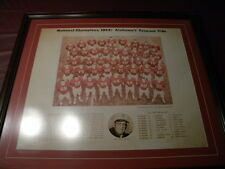 Alabama 1964 National Champions Framed Picture (Bear Bryant's Favorite Team)