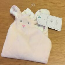 Mothercare Bunny Blankie Pink Floral Rabbit Baby Comforter