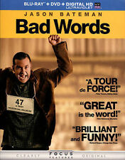 Bad Words (Blu-ray + DVD + DIGITAL HD with UltraViolet) New DVD! Ships Fast!
