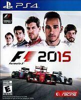 NEW SEALED F1 2015 (Sony PlayStation 4, 2015)