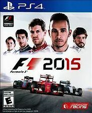 F1 2015 RE-SEALED Sony PlayStation 4 PS PS4 GAME FORMULA 1 RACING 2K15 15