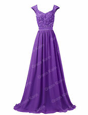 Women Formal Long Party Evening Gown Cocktail Ball Prom Bridesmaid Maxi Dress --
