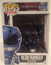 Autographed Pop Funko Blue Ranger from Power Rangers signed by RJ Cyler JSA