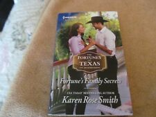 The Fortunes of Texas the Rulebreakers: Fortune's Family Secrets by Karen Rose S