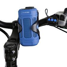 CLEARON Portable Wireless & Waterproof Bluetooth Speaker w/ Bike Mount & Remote
