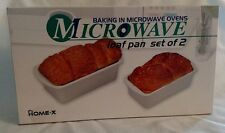 microwave loaf pan set of 2 item #SH922