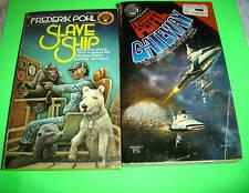 FREDERIK POHL BOOKS ~ BOOK LOT!! SLAVE SHIP +GATEWAY