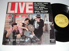 The Silver King Band: Live At The Dive LP - Dangerzone DZ 009-1
