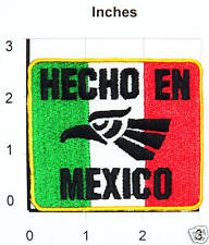 HECHO EN MEXICO MADE IN MEXICO EAGLE AGUILA DISTRITO FEDERAL DF PARCHE PATCH