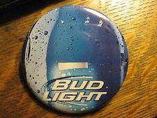 Budweiser Bud Light USA Beer Lager Bottle Advertisement Pocket Lipstick Mirror