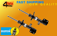 2x BILSTEIN FRONT  Shock Absorbers DAMPERS TOYOTA AVENSIS  T25 2003- 2008