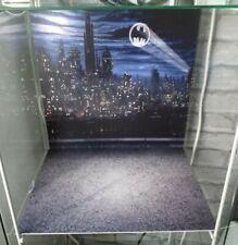 BATMAN Ikea Detolf custom BACKDROP & BASE Bat signal 89 92 Keaton