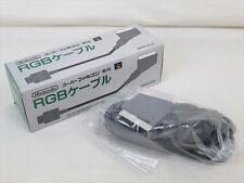 Super Famicom Nintendo Official RGB Cable SHVC-010 Boxed MINT Condition JAPAN