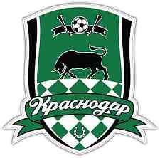 "FC Krasnodar Russia Football Soccer Car Bumper Sticker Decal 4""X5"""