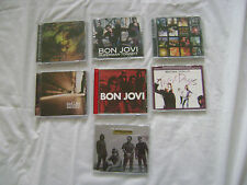 Bon Jovi 7 CD's Everyday These Days One Wild Night Outlaw Superman Tonight Etc.