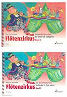 Flötenzirkus - Band 2 - Die Blockflötenschule für Kinder ab fünf Jahren