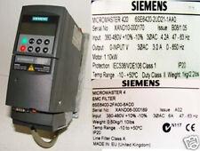 Siemens Micromaster  420 6SE6420-2UD21-1AA0 + EMC Filter -used-