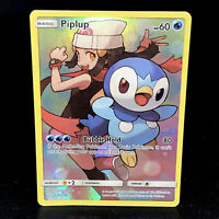 Piplup - SM Cosmic Eclipse - 239/236 Secret Rare Holo Rare Pokemon Card