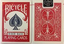 Red Rider Back Bicycle Playing Cards Poker Size Deck USPCC New Sealed