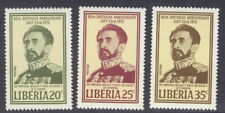 Liberia 1972 Ethiopia, Haile Selassie NH #605-07 complete set