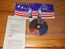 KONSTANTIN WECKER - AMERIKA / MAXI-CD 2000 MINT! & PROMO-INFO