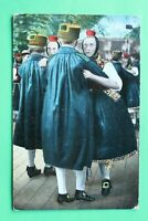 Hessen 11) AK Bad Nauheim 1914 Paartanz Trachten Tradition