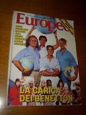 EUROPEO 1986/30=FAMIGLIA BENETTON=DODO D'HAMBOURG=BEATRICE DALLE=AIAZZONE=