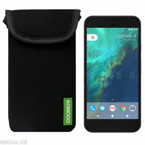 Komodo Google Pixel XL Neoprene Mobile Phone Pouch Pocket Cover Case Sock ///