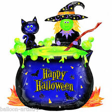 "27"" Halloween Witches Brew Foil Supershape Balloon"