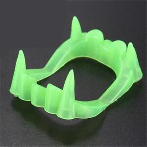 Dracula Teeth Halloween Party Favor Glow In The Dark Vampire Fangs Kid Toys Gift