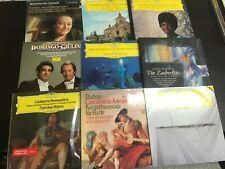 11 DG Lot Audiophile Classical Opera Flute Guitar Record lp original vinyl album