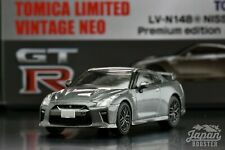 [TOMICA LIMITED VINTAGE NEO LV-N148e 1/64] NISSAN GT-R PREMIUM EDITION 2017 Gray