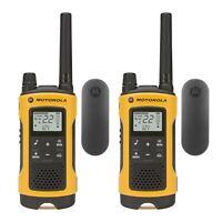 Motorola Talkabout T402 Two-Way Radio, 35 Mile, 2 Pack, Yellow