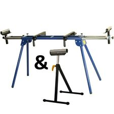Universal Mitre CHOP Saw Leg Stand Miter Table Bench Extendable Rollers