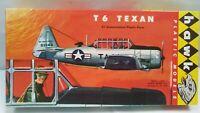 Vintage Hawk 610-50  American Aviation T6 Texan Aircraft Model Kit Airplane Toy