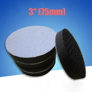 "75mm Diameter Soft Sponge Cushion Interface Pad Sanding Discs Pads 3"""