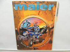 Maier USA 2000 Dealer Motorcycle Price List Dirt Street ATV Yamaha L10401